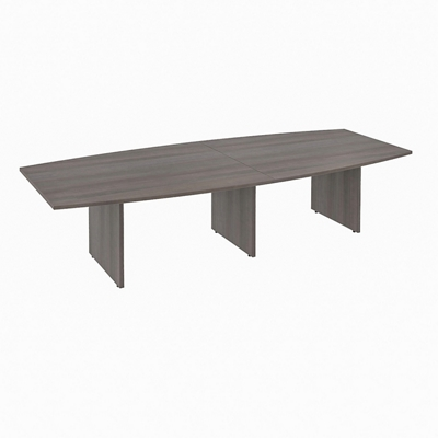 "Boat-Shaped Conference Table - 10'W x 48""D"