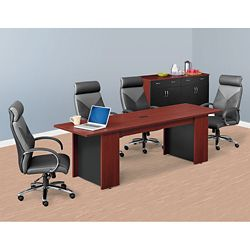 Ascend Rectangular Meeting Table with Power Module - 8'