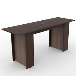 Ascend Rectangular Standing Height Meeting Table with Power Module - 8'