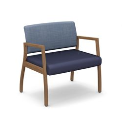 Iris Bariatric Guest Chair with Arms