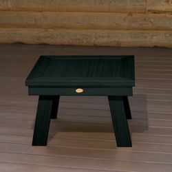 Outdoor Synthetic Wood Side Table