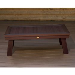 Outdoor Synthetic Wood Conversation Table