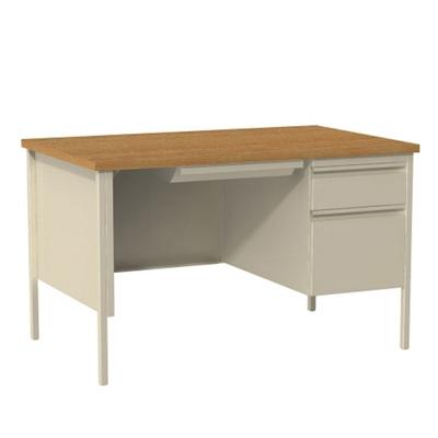 "Single Pedestal Desk - 48""W"
