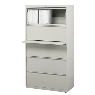 "30""W Five Drawer Lateral File"