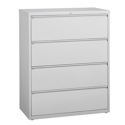 "42""W Four Drawer Lateral File"
