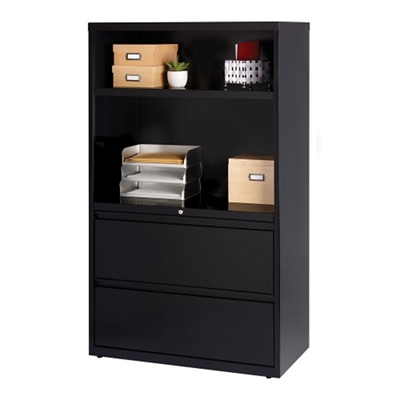 "Combo Shelving and Filing Unit - 36""W"