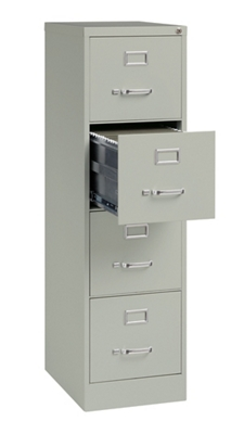 "22""D Four Drawer Letter Vertical File"