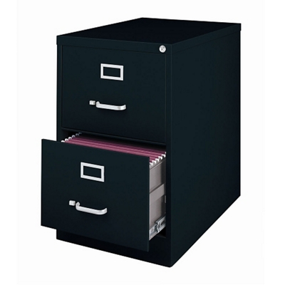 """25""""D Two Drawer Legal Vertical File"""