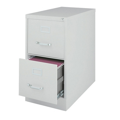 "26.5""D Two Drawer Letter Vertical File"