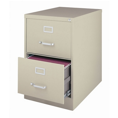 """26.5""""D Two Drawer Legal Vertical File"""