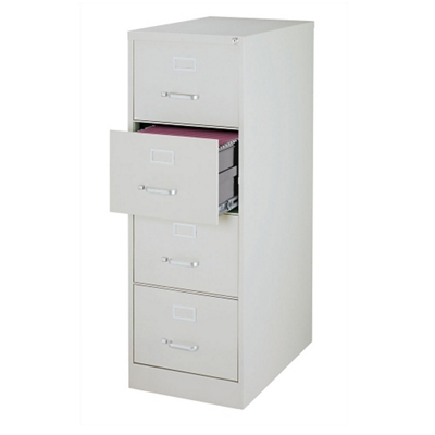 "26.5""D Four Drawer Legal Vertical File"