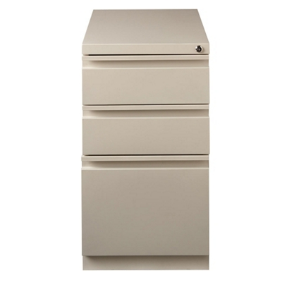 "20""D Three Drawer Mobile Pedestal"