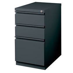 "23""D Three Drawer Mobile Pedestal"