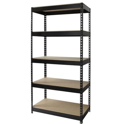"Five Shelf Riveted Shelving - 36""W x 18""D x 72""H"