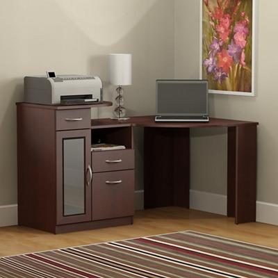Vantage Corner Desk with Storage