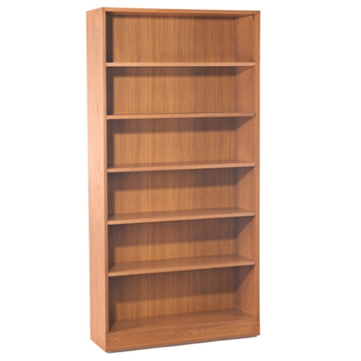 Hardwood Six Shelf Bookcase