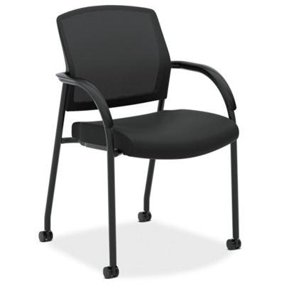 Mesh Back Fabric Seat Multi-Purpose Guest Chair