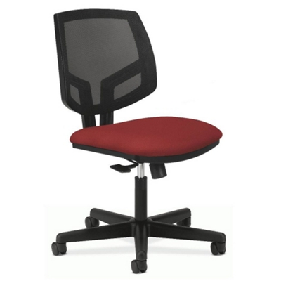 HON Volt Armless Mesh and Fabric Task Chair