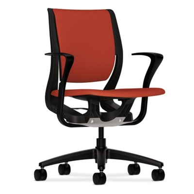 HON Purpose Mid-Back Task Chair with Fixed Arms