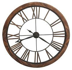 "Roman Numeral Wall Clock - 32.25""DIA"