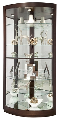 "Six Shelf Corner Curio - 79.5""H"