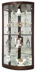 "Six Shelf Corner Curio - 79.5""H"