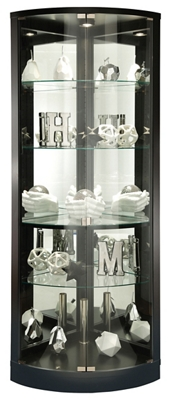"Five Shelf Corner Curio - 78""H"