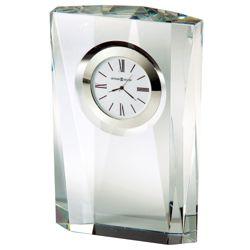 "Quest Crystal 7""H Desktop Clock"