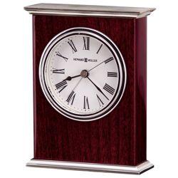 """Kentwood 5.5""""H Veneer Tabletop Clock"""