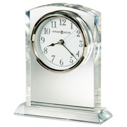 "Flaire 6.25""H Beveled Side Tabletop Clock"