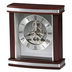 "Contemporary Desk Top Clock - 6.75""W"