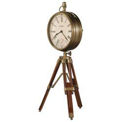 "Time Surveryor 15.25""H Tripod Mantel Clock"