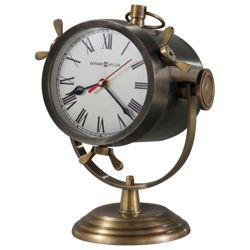 """Vernazza 11.25""""H Spotlight Mantel Clock"""