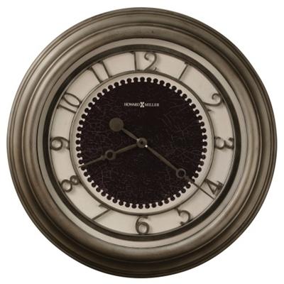 "25.5""Dia Oversized Antique Nickel Wall Clock"