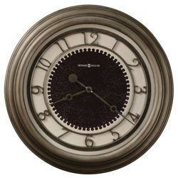 "25.5""Dia Oversized Antique Nickel Wall Clock"