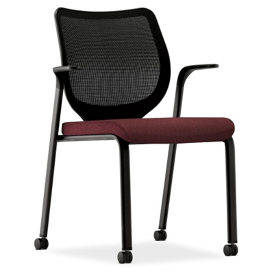 HON Nucleus Mesh Back Stacking Guest Chair