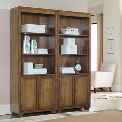 """Five-Shelf Bookcase with Lower Doors - 78""""H"""