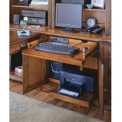"Traditional Compact Computer Desk - 32""W x 23.375""D"