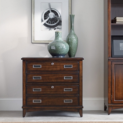 """32""""W 2 Drawer Contemporary Lateral File"""