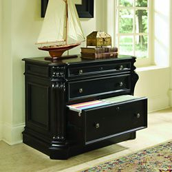 "38.5""W Two Drawer Lateral File"