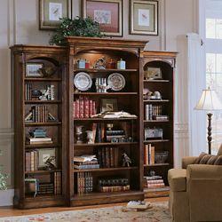 "82""H 15 Shelf Traditional Three Bookcase Set"