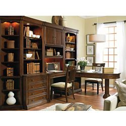 Classic Peninsula Desk Office Set