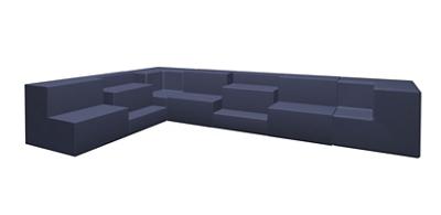 Seven Piece Collaborative Seating Set