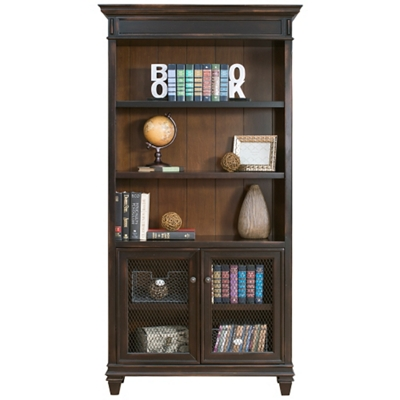 """Bookcase with Lower Doors - 40""""W x 78""""H"""