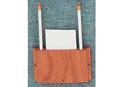 Card And Pencil Holder