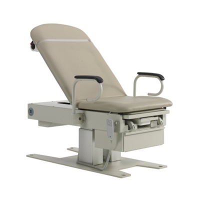 Hi-Low Exam Table with Assist Arms and Storage