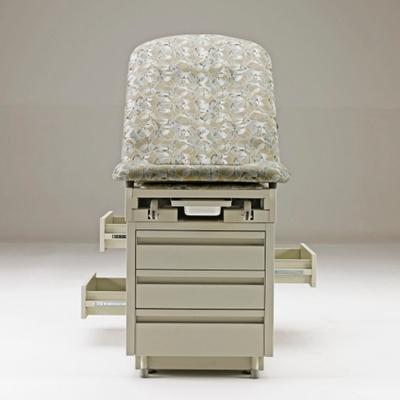 Pass-through drawers (alternate upholstery shown)