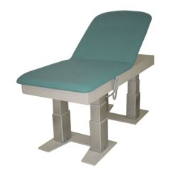 Bariatric Exam Table with Power Assisted Back