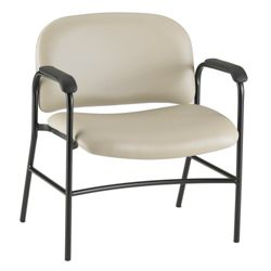 Bariatric Vinyl Guest Chair with Arms