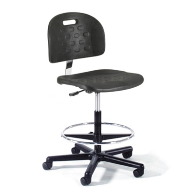 Molded Urethane Lab Stool
